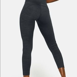 OUTDOOR VOICES Charcoal 7/8 WARMUP LEGGINGS